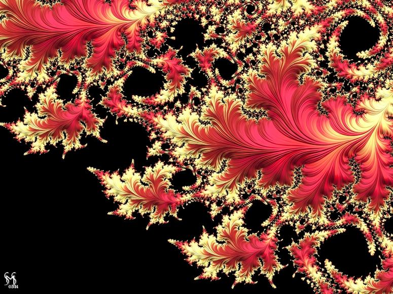 Windswept - Fracral Art by Susan zmaxwell Schmidt