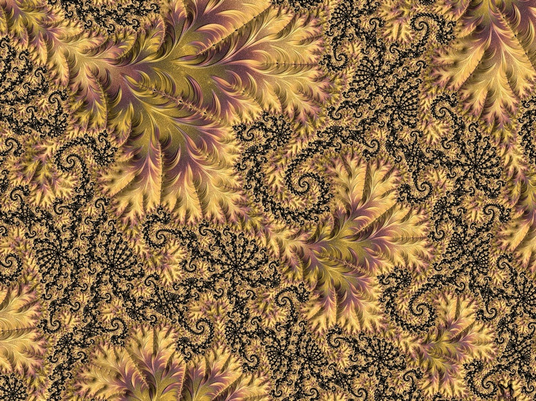 Faerie Forest Floor II - Conceptual Fractal Art by Susan Maxwell Schmidt
