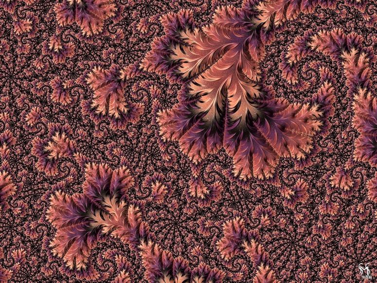 Faerie Forest Floor III - Conceptual Fractal Art by Susan Maxwell Schmidt