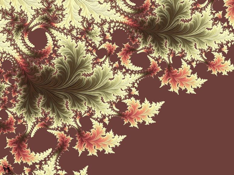 Japanese Garden I (Diptych) - Fractal Art by Susan Maxwell Schmidt