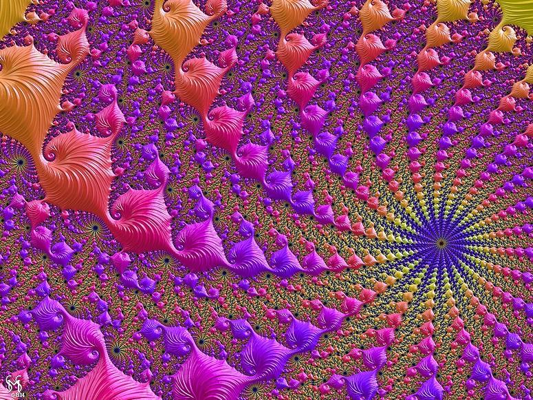 Skittled - Fractal Art by Susan Maxwell Schmidt