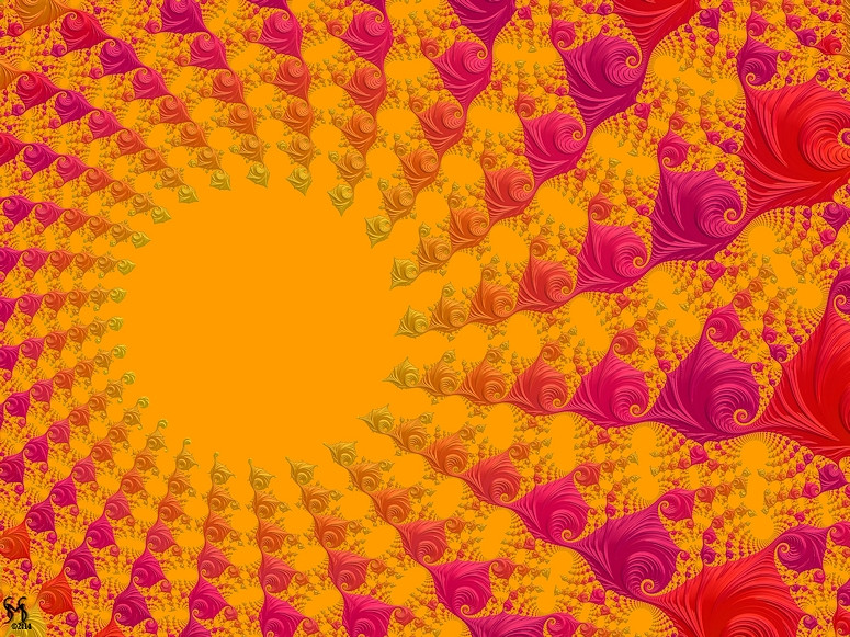 Solar, with Flair - Fractal Art by Susan Maxwell Schmidt