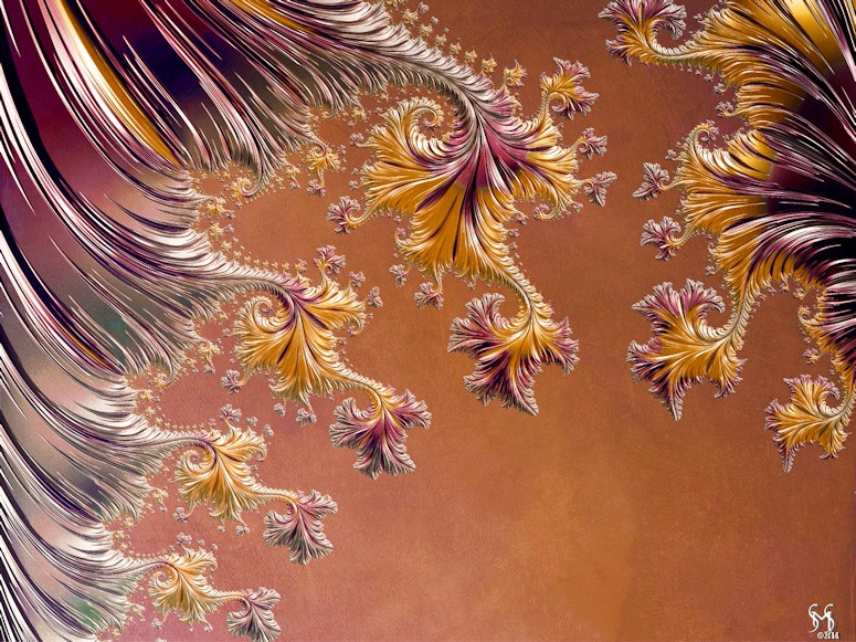 In Vino Veritas - Conceptual Fractal Art by Susan Maxwell Schmidt